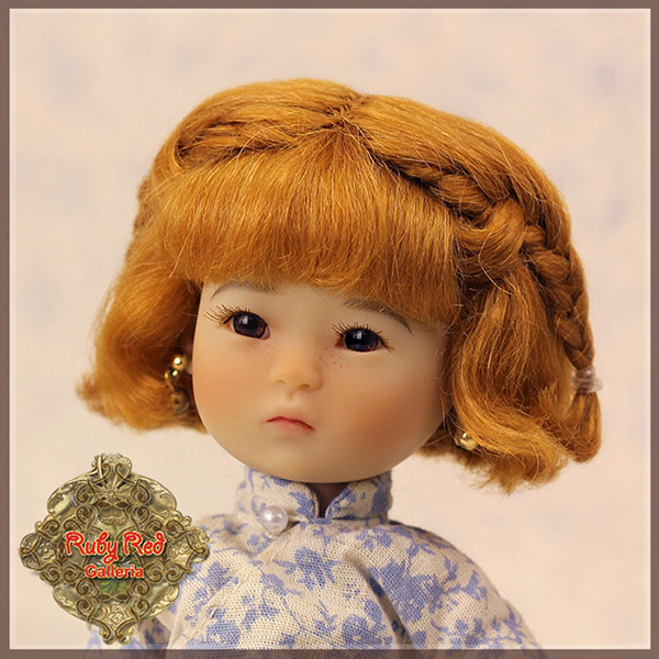 RubyRed Galleria Light Brown Braid Wig HD0011B
