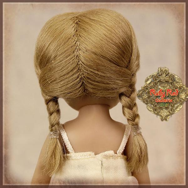 RubyRed Galleria Light Brown Braids Wig HD0018A