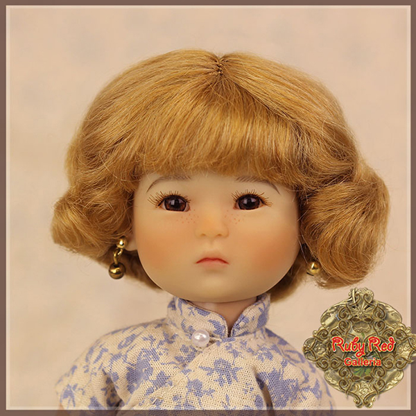 RubyRed Galleria Light Brown Wig HD0015A