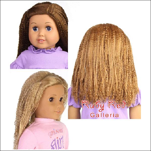 """RubyRed Galleria, Size 11.5 (18"""" Dolls) - Wigs"""