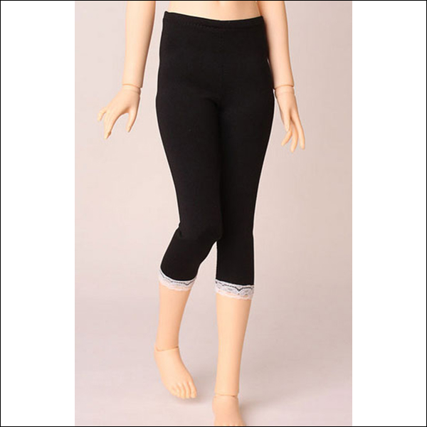 Mid-Calf Solid Leggings