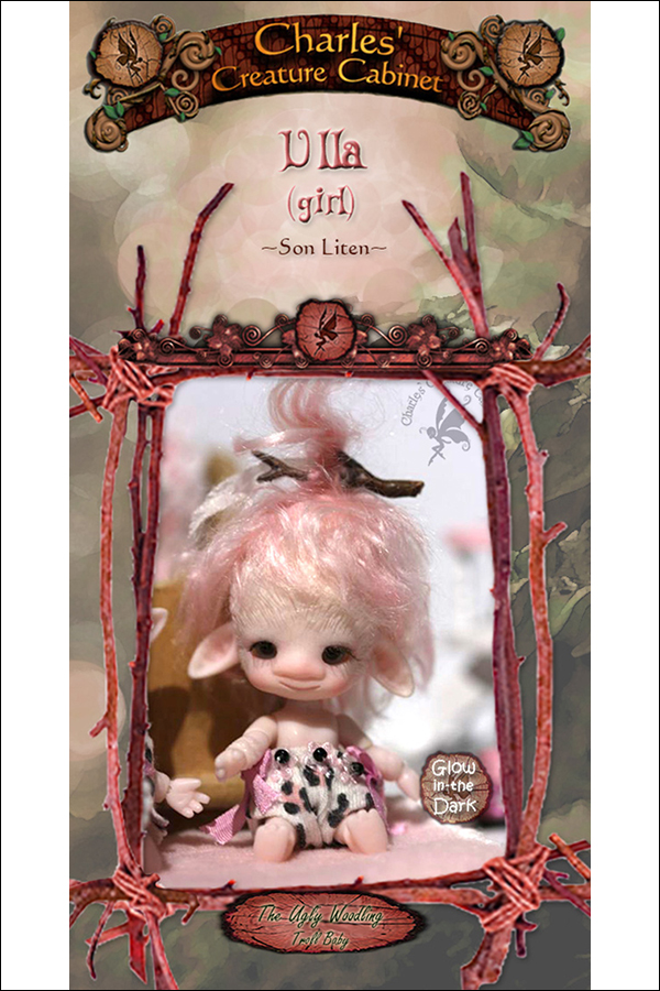 Charles Creature Cabinet Ulla Micro Tiny BJD