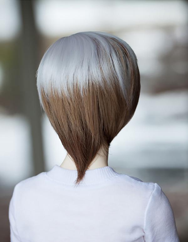LeekeWorld Wig ART White Mix Short