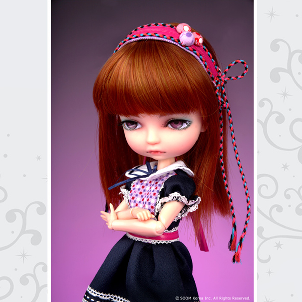 Lila World by Soom BJD Berry Bubble Pop Pop