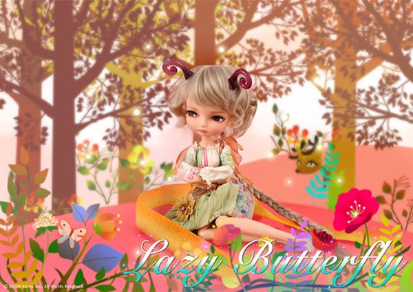 Lila World by Soom BJD Lazy Butterfly
