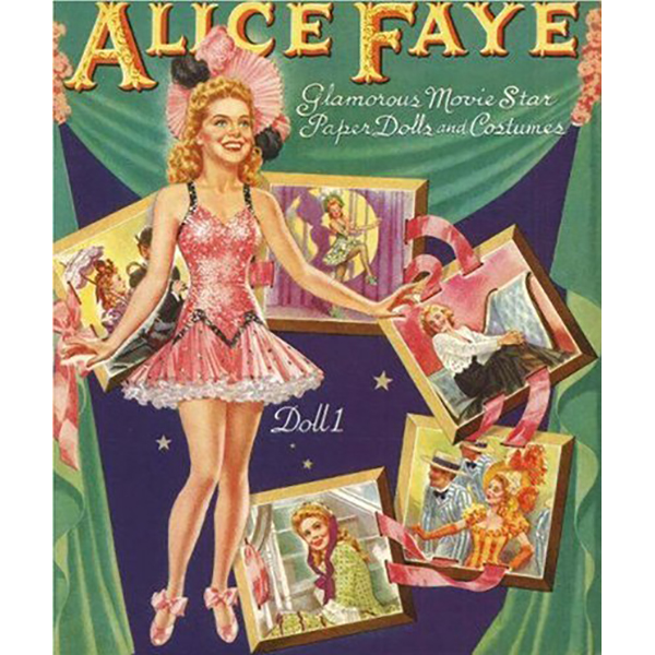 Paper Dolls Alice Faye