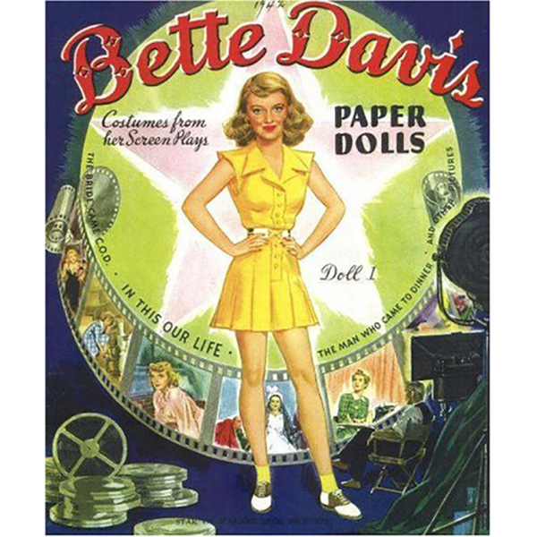Paper Dolls Bette Davis