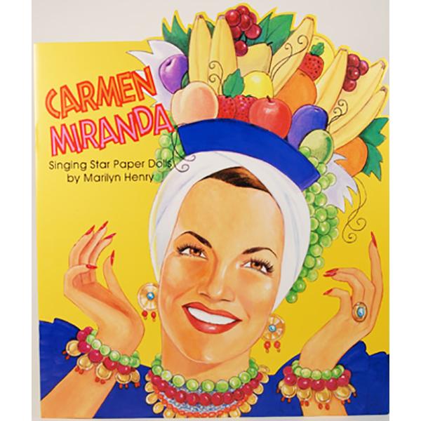 Paper Dolls Carmen Miranda