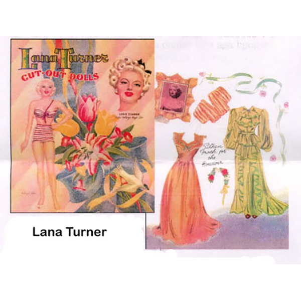Paper Dolls Lana Turner