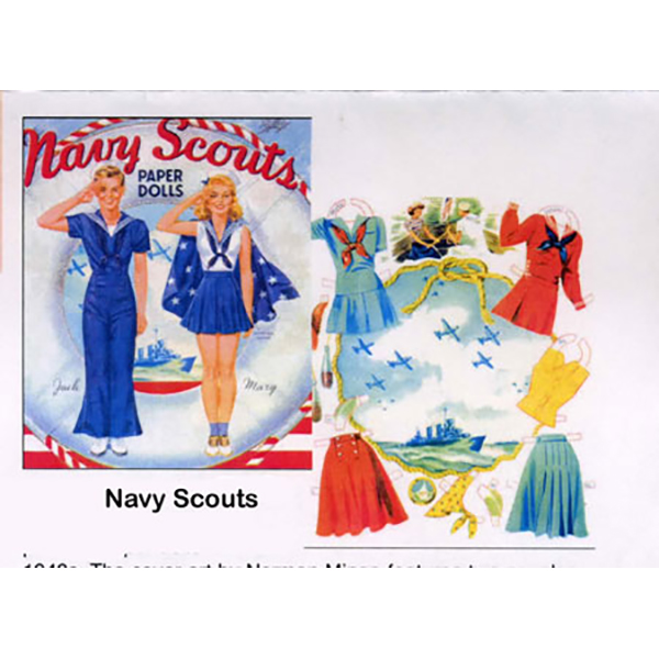 Paper Dolls Navy Scouts