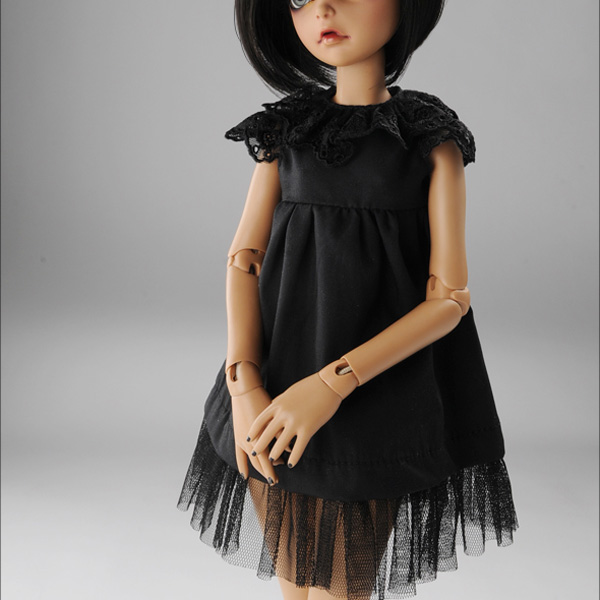 dollmore couya dress black msd
