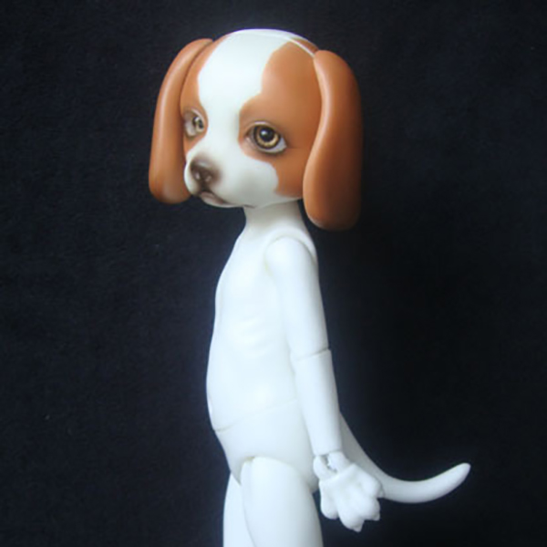 ResinSoul Animals BJD 18cm Pup 38