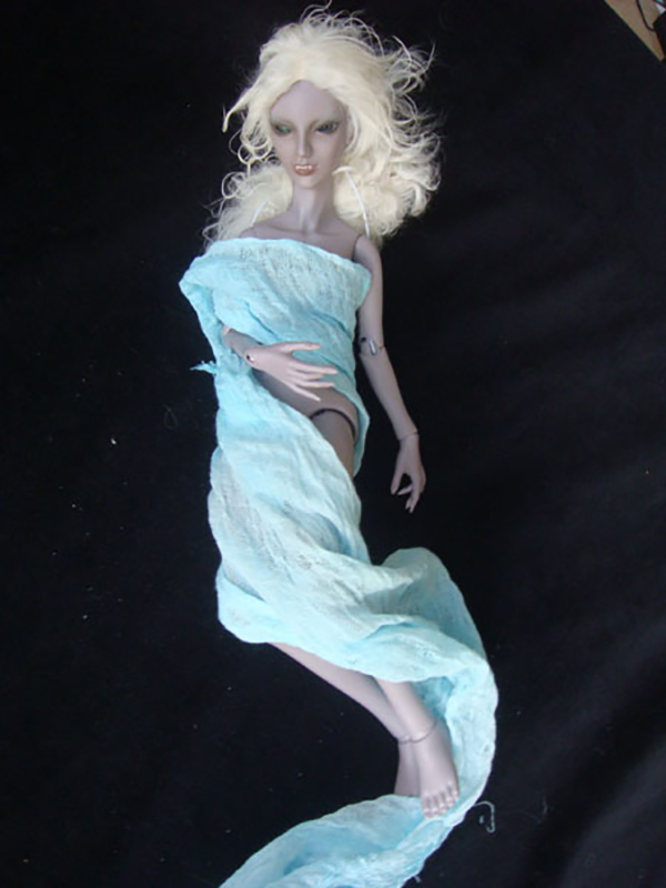 ResinSoul MSD BJD 40cm Lu Girl