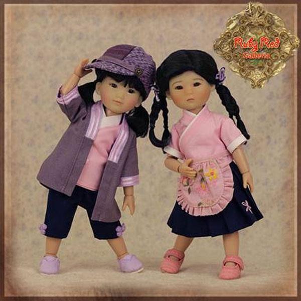 Ruby Red Gigi Ten Ping HA0028A