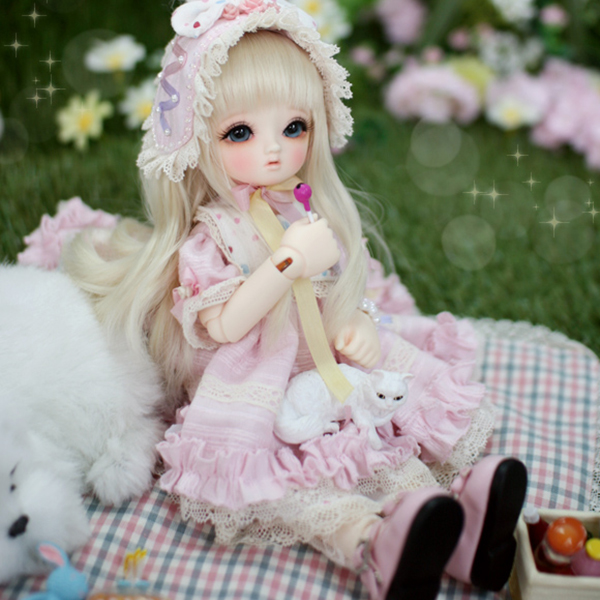 Little Monica Honey Harmony BJD YoSD Blossom Lucile