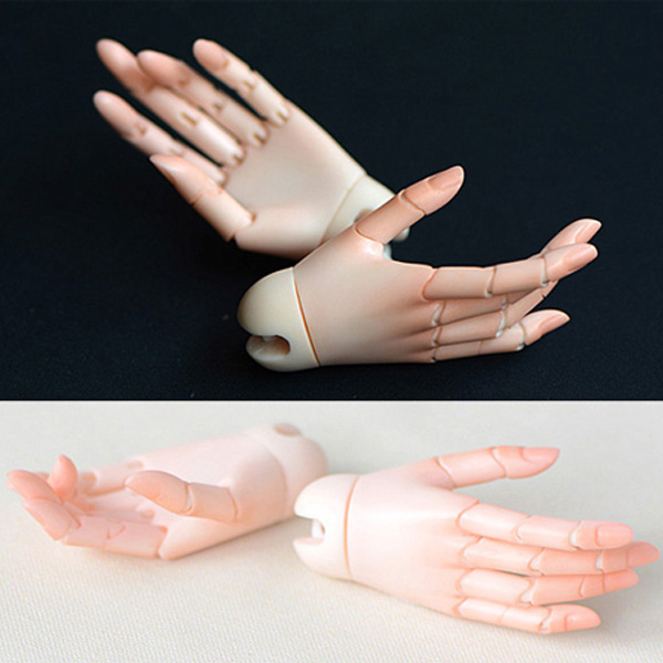 ResinSoul Jointed Girl Hands MSD