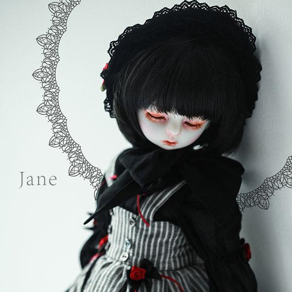 dollzone msd 1/4bb 40cm body jane full set