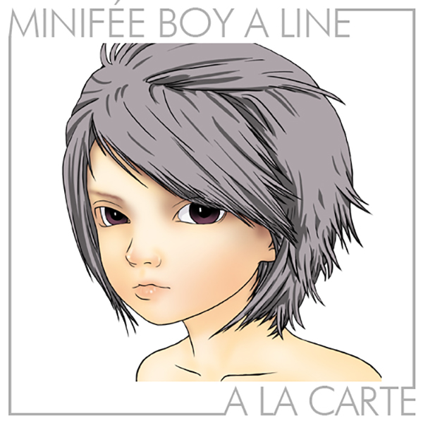 Boy - Active Line Minifee (Natural, White & Tan)