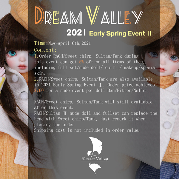 dream valley yosd rach 2 sultan 2 early spring event 2021