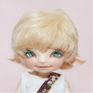 fairyland realfee wig rfw-01 short cut blonde