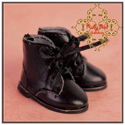 rubyred black boots