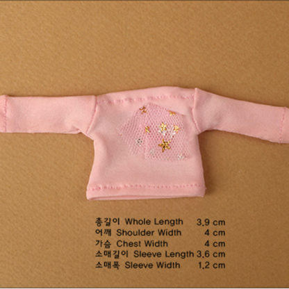 doll more bebe fany twinkle tshirt pink