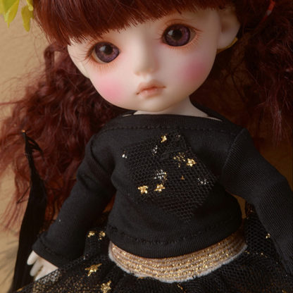 doll more bebe fany twinkle tshirt black