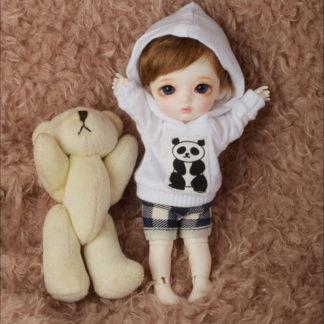 doll more bebe gom hood tshirt