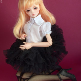 dollmore msd kid florence race skirt black