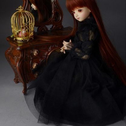 dollmore msd mikhaila dress black