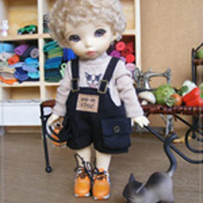 anydoll small black overalls