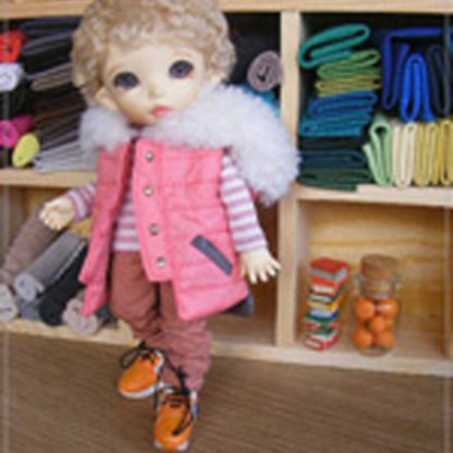anydoll small quilted pink