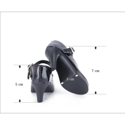 dollmore sd black basic heels
