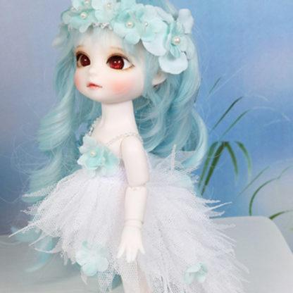 princess small mint flower angel