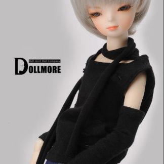 dollmore msd tie t black