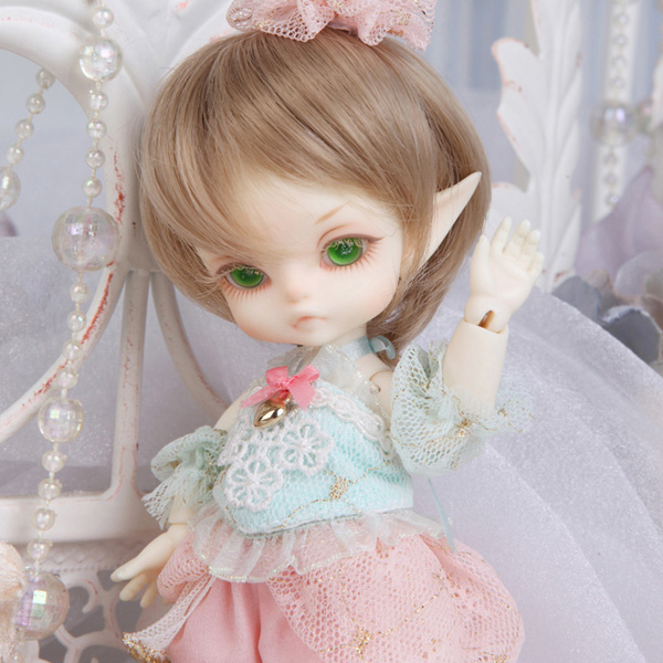 Free Face Make UP+Eyes 1//8 BJD Doll SD Doll Luts Tiny Delf Alice