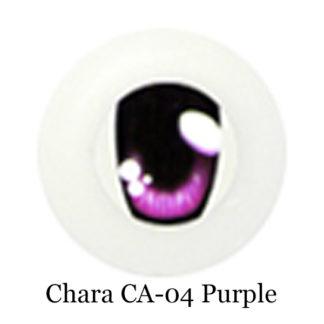 glib arcrylic chara purple