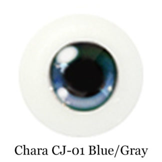 glib arcrylic chara blue gray