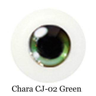glib acrylic chara eyes green