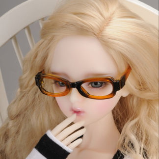 doll more sunglasses brown lensless msd