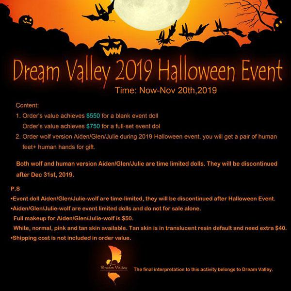 dream valley halloween event