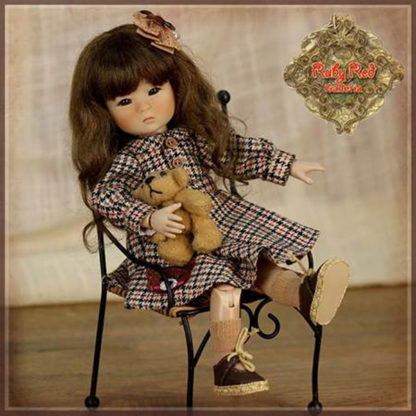 Ruby Red Galleria Tartan Outfit