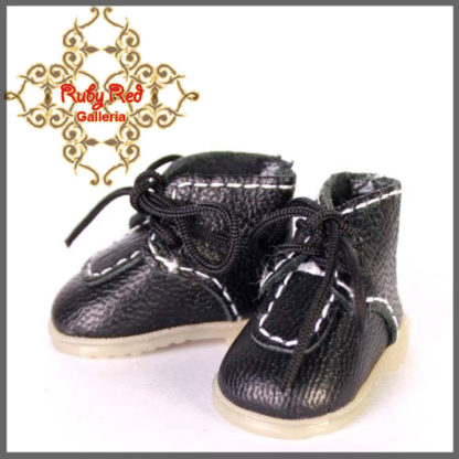 ruby red galleria black leather walking shoes