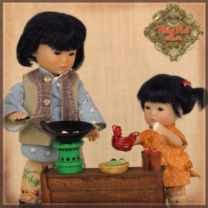 ruby red ten ping kitchen utensils hz0012a