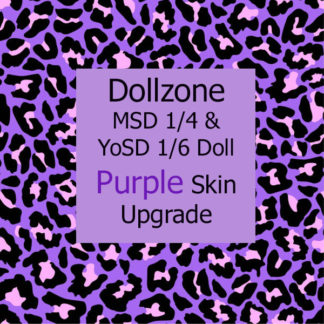 doll zone purple skin color upgrade msd yosd