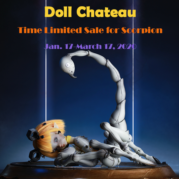 doll chateau scorpion cephalopod event