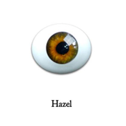 glib oval glass 6mm hazel