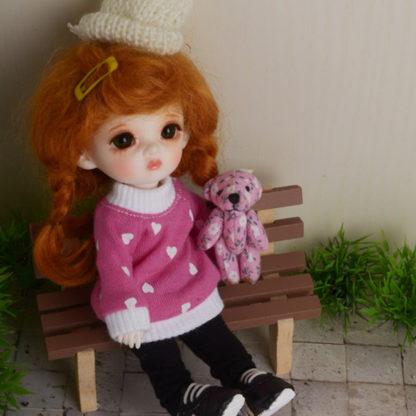 doll more bebe jeom pink shirt