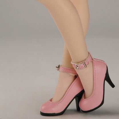 doll more msd kid basic heels pink