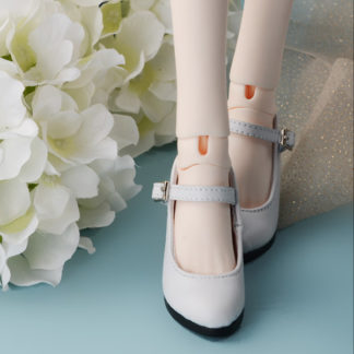 doll more sd basic heels white